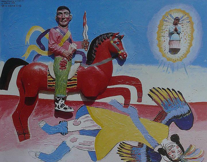 Discurso visual s mbolos nacionalistas en la pintura for Murales de fotos para pared